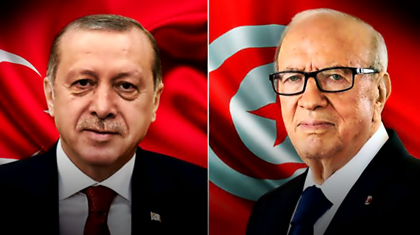 قايد السبسي و اردوغان